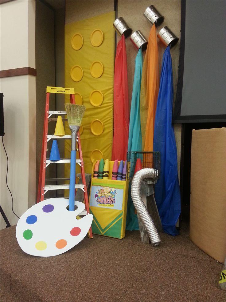 Classroom Paint Decor ~ Best vbs maker fun factory images on pinterest