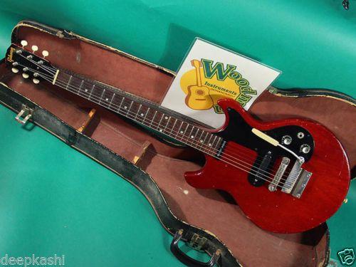GIBSON-MELODY-MAKER-CH-1966-EX-W-Original-Soft-Shell-Case-Electric-guitar