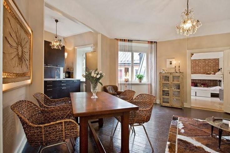Красивая ретро-квартира 78 м2 в Стокгольме - Дизайн интерьеров   Идеи вашего…