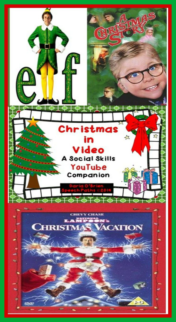 Keep students motivated with this 3 lesson packet using YouTube clips from popular Christmas movies!  Targets social cognition and self-regulation skills Grade 4 and up.