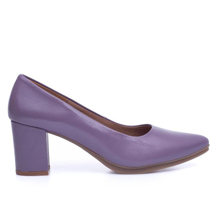 URBAN S SALÓN – Zapato de tacón medio LILA   – ZAPATOS CÓMODOS DE TACÓN | MIMAO STYLE