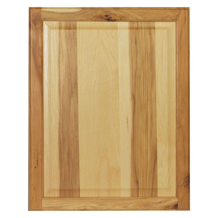 22x27.375x0.625 in. Hampton Decorative End Panel in Natural Hickory