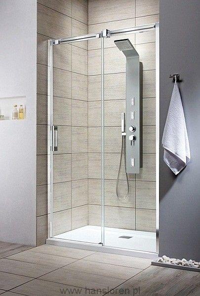 Espera DWJ Radaway drzwi wnękowe 99-101x200 prawa przejrzysta - 380110-01R  http://www.hansloren.pl/Kabiny-prysznicowe