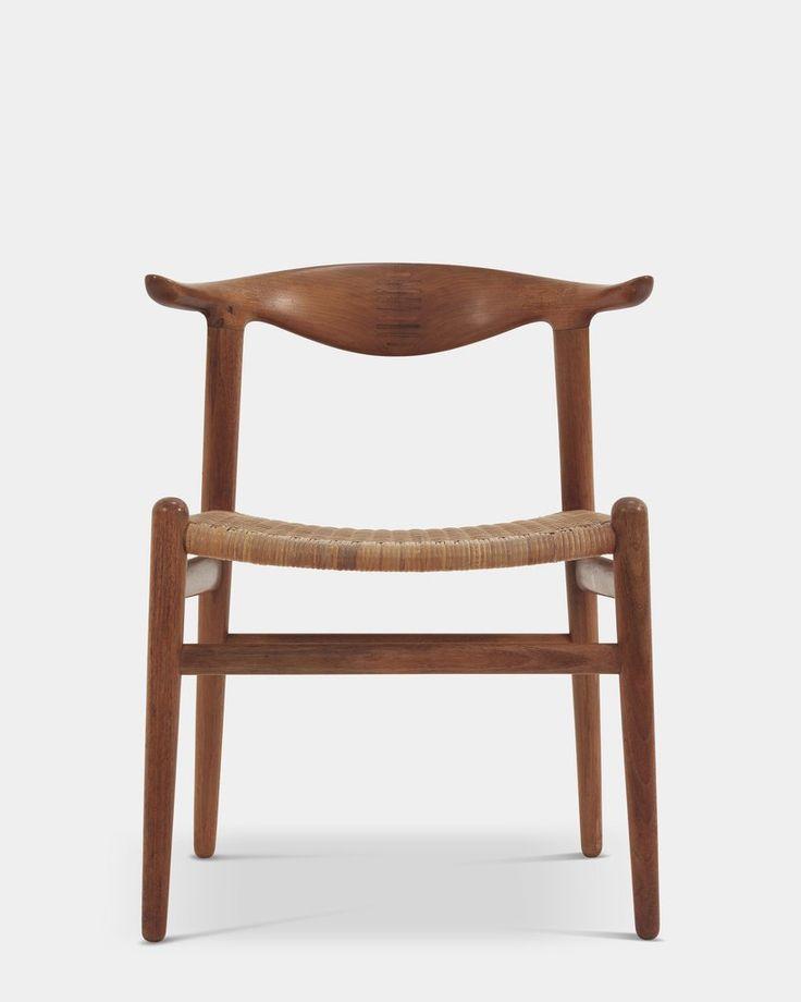 Cow horn Chair by Hans J. Wegner