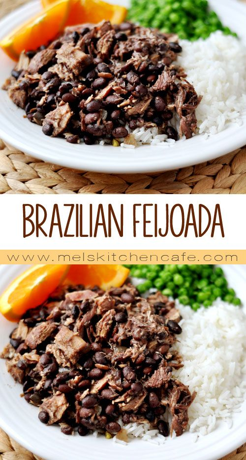 Brazilian Feijoada {Slow Cooked Pork and Black Bean Stew}