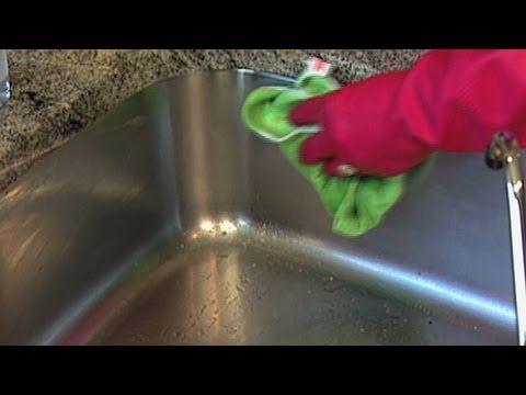 Comment nettoyer un évier en acier inoxydable