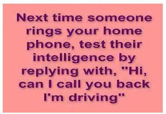 Seriously hilarious!