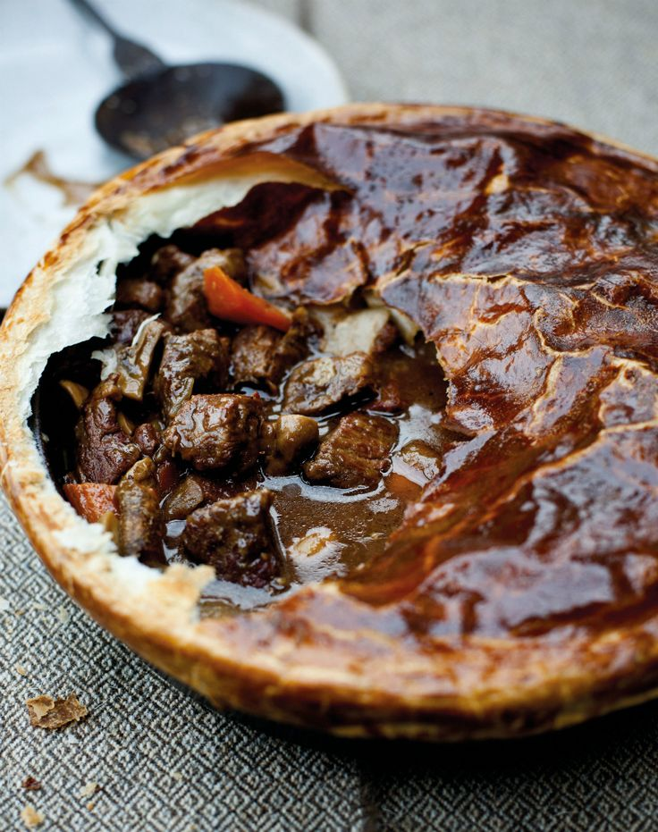 Tom Kitchin's Beef and Guinness Pie | Exclusive Magazines