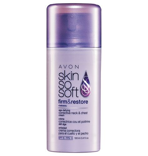 Avon Skin so Soft for neck and chest. LOVE this!  Buy from @Claudia R. Sanjuanero