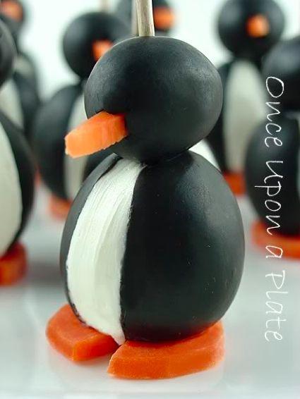 Olive Penguins...http://homestead-and-survival.com/olive-penguins/
