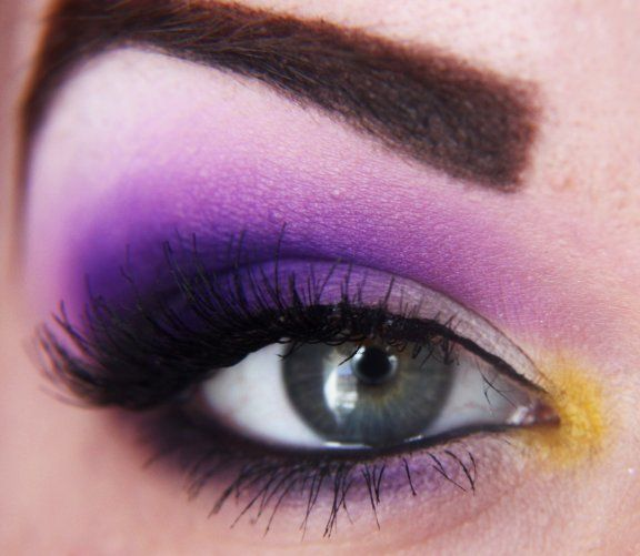 purple: Pansies Shadows, Purple Rain, Brown Eye, Purplehair Style, Purple Flowers, Purple Eyeshadow, Girls Hairstyles, Paintings Faces, Purple Hair Style
