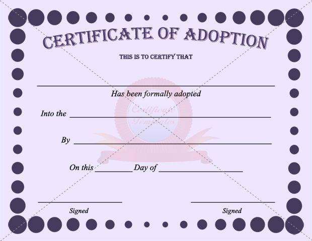 Adoption records
