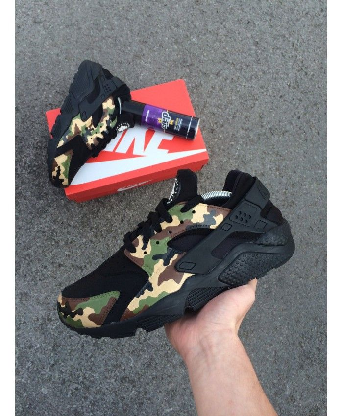 e2d052fd455 Nike Air Huarache Camo Pack Trainers