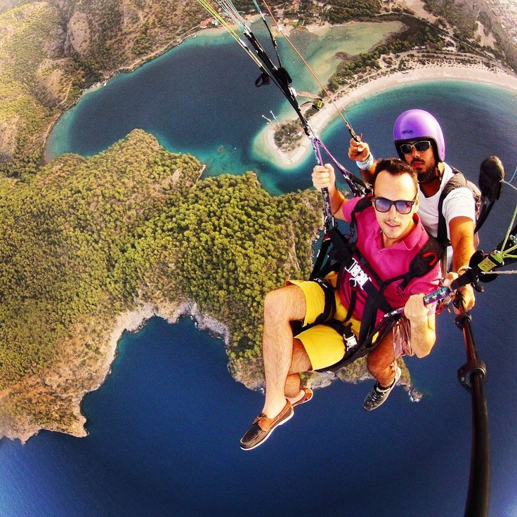#Oludeniz Paragliding in #Fethiye from #Babadag Mountain