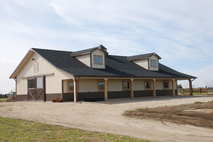 Horse barns arena outdoor spaces pinterest to be sheds and barn houses - Sheds for small spaces property ...