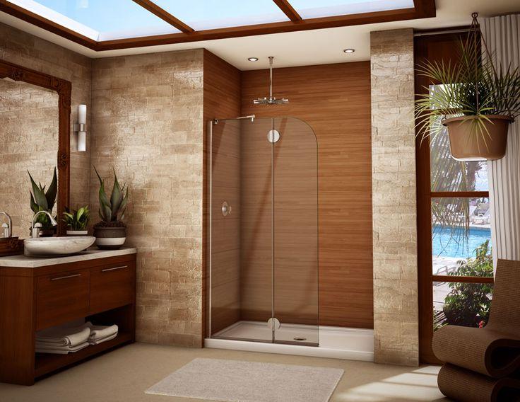 enchanting frameless glass shower door for shower small bathroom ideas stunning shower for small bathroom ideas with sliding shower door and wooden vanity