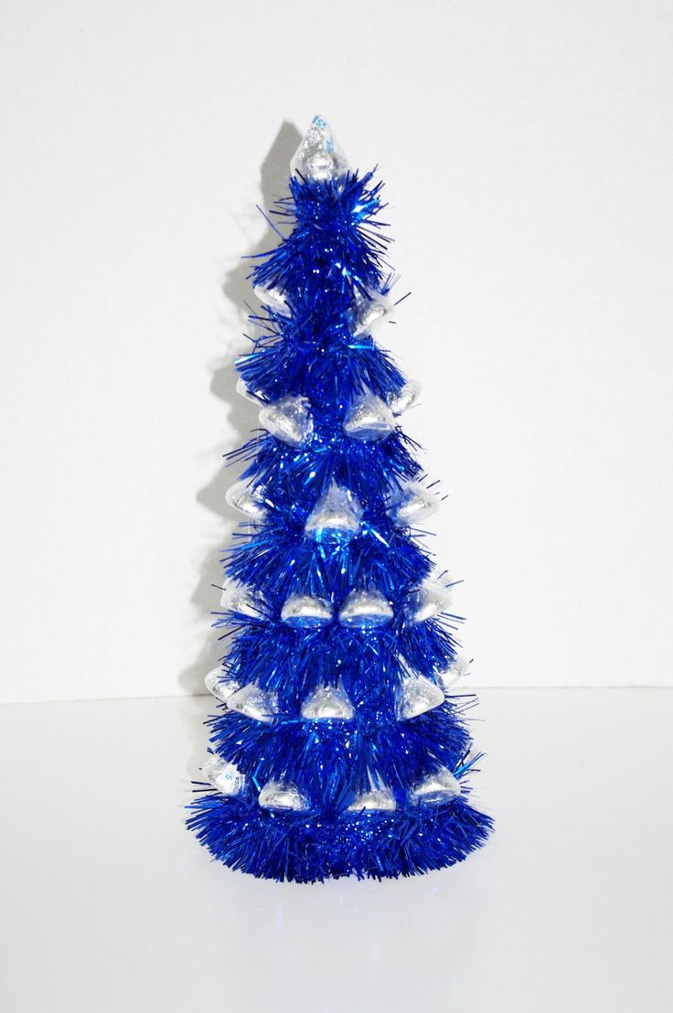 Hanukkah ornaments for a tree - A Holiday Tree Made With Hershey Kisses Great For Christmas Or Hanukkah Contains About 40