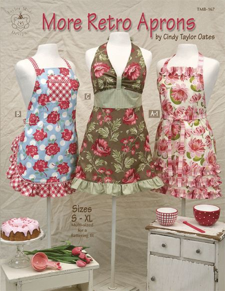 Taylor Made - More Retro Aprons Pattern