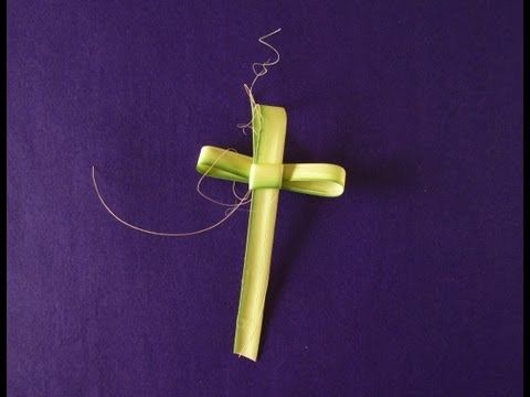 Palm Cross: How to make an Easter Palm Cross – Origami Instructions