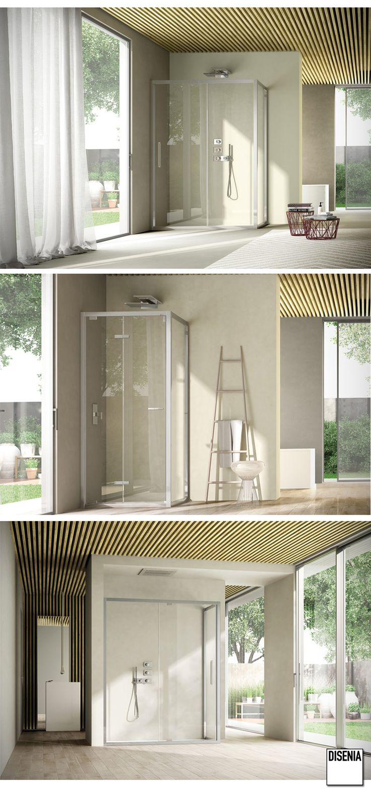Like is the evolution #Disenia offers in the framed enclosure field. #Design #MadeinItaly #Bathroom
