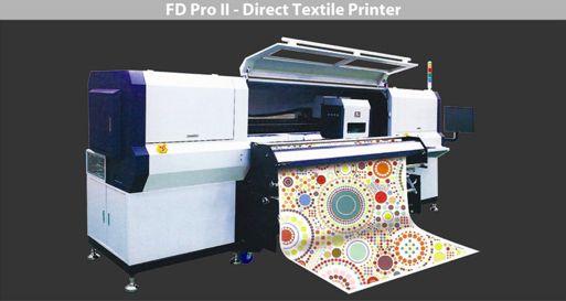 Impresora textil directa para la mayor parte de textiles como, tejidos de algodón, seda, poliéster, etc