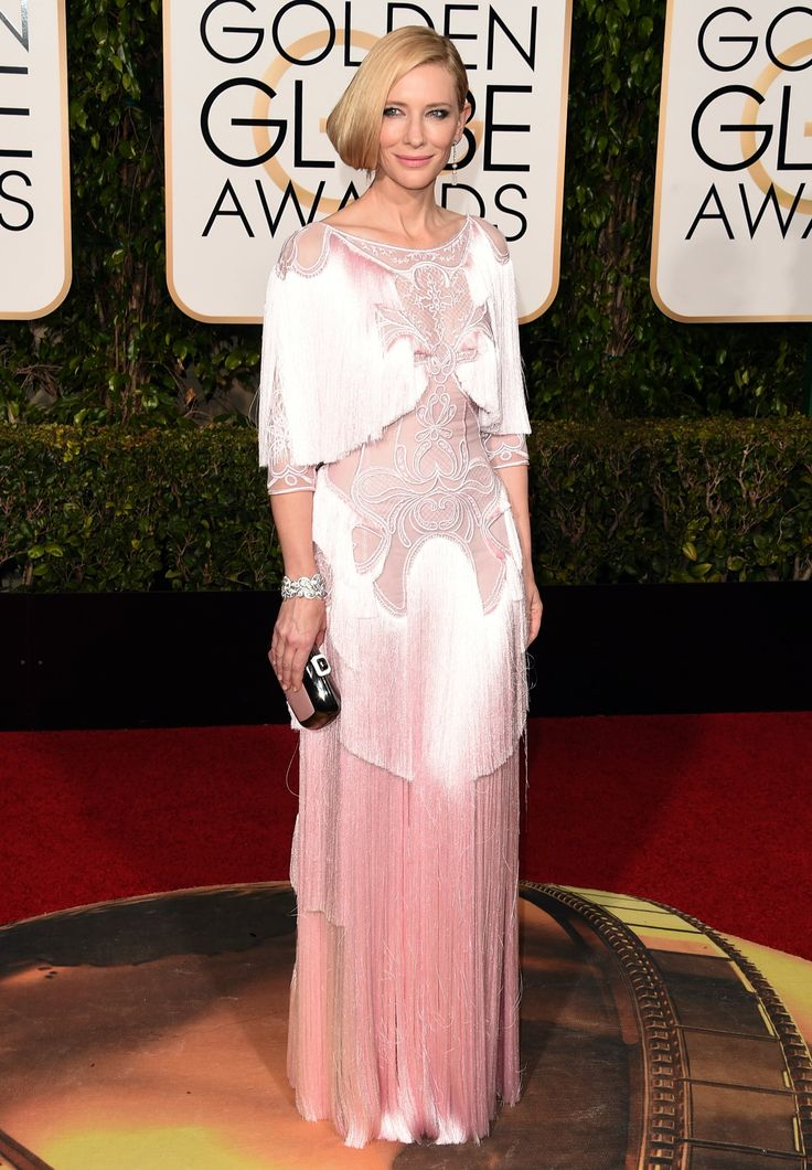 Cate Blanchett in Givenchy - golden globes 2016: red carpet