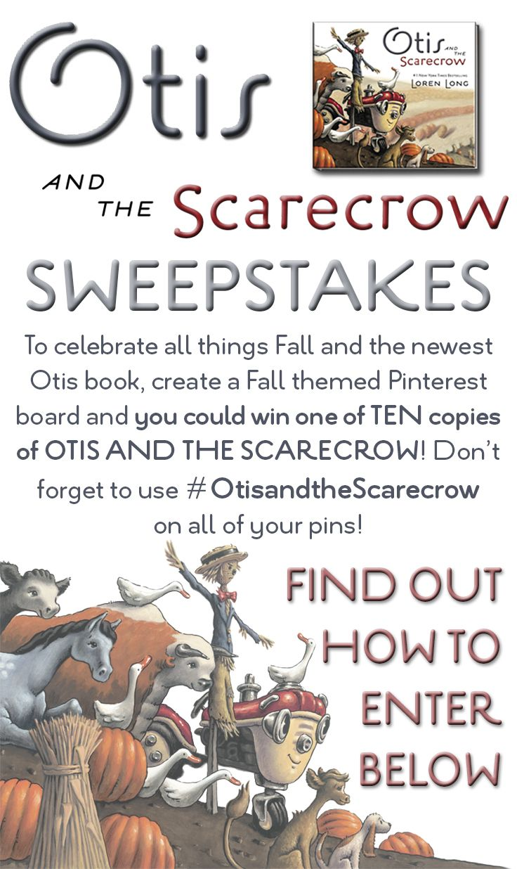 official rules sweepstakes 17 best images about fall with otis and the scarecrow on 7196