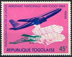 Togo #499 Stamp  Inauguration of National Airline Stamp