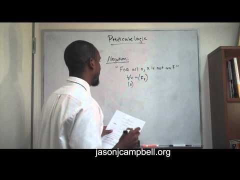 3. Logic Lecture: Introduction to Predicate Logic - YouTube