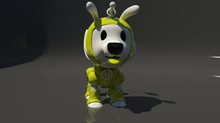 Mascota corporativa Lcd Chile