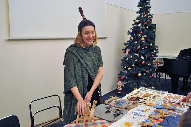 Благотворительная ярмарка-праздник «Традиции Рождества» 4 декабря 2016 - Мастерская добрых дел «Нескучный сад»
