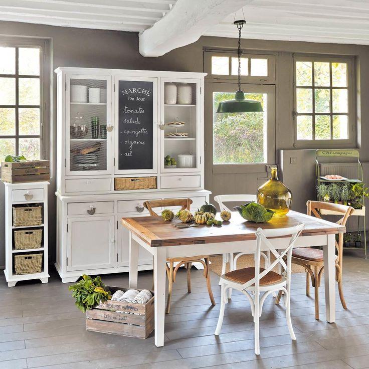 Chiffonnier en bois blanc L 41 cm Basse-cour | Maisons du Monde