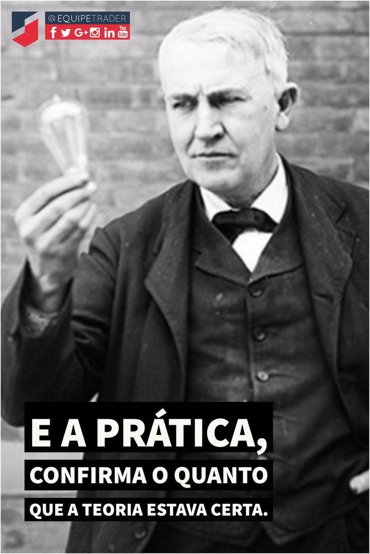 No mundo das invenções, Thomas Edison tornou-se referência. Além de ter criado a lâmpada incandescente, outras criações também foram de grande importância como a estrada de ferro eletromagnética, que promove mobilidade urbana e sustentabilidade, a câmera cinematográfica e a bateria de carro elétrico.    Suas invenções saíram da teoria para a prática e mudaram o mundo.     E você? Pode ser que não irá mudar o mundo investindo na prática, mas com certeza sair da teoria irá mudar o seu.    Já…