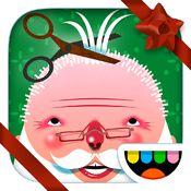 Toca Hair Salon: Julutgåva - klipp jultomtens hår och skägg betyg 4/5 #pedagogiskaspel