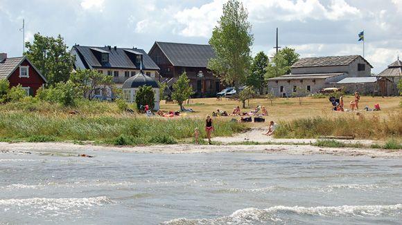 Katthammarsvik   Gotland.net