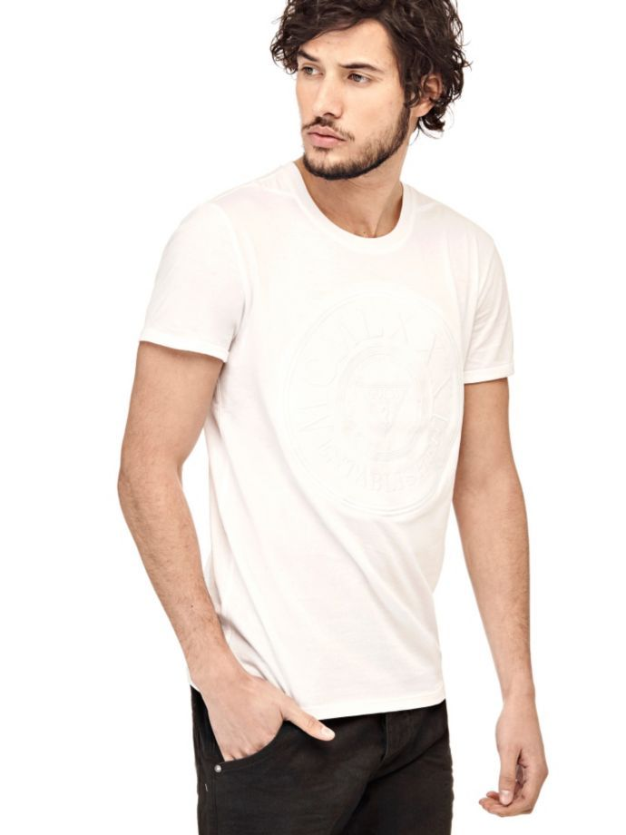 EUR35.90$  Watch now - http://vijhq.justgood.pw/vig/item.php?t=itsst317503 - T-SHIRT WITH FRONT EMBROIDERY