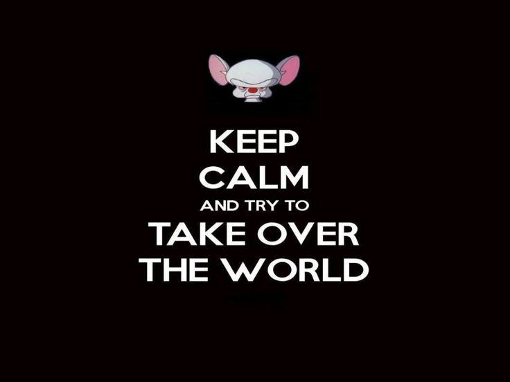 Pinky and the Brain Quotes   Pinky and the brain keep calm wallpaper   (40134)