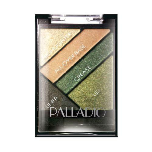 Palladio Palladio Sombras Silk Fx Haute Couture Espectacular sombra que brinda a tu mirada un brillo unico y explosivo, en combinacion de  4 hermosos tonos y un delineador de ojos que profundiza tu mirada.