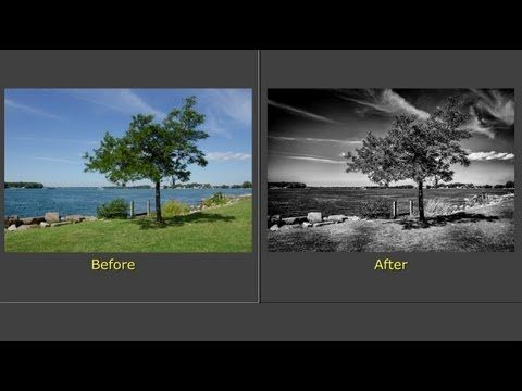 ▶ Processing a Photo With Nic Silver Efex Pro 2 & Lightroom (Training Tutorial) - YouTube