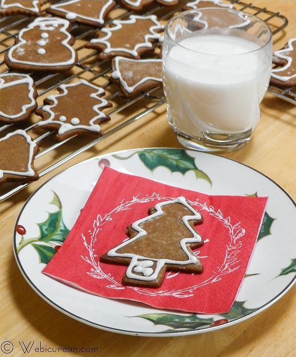Pepparkakor, crisp, thin cookies, laced with ginger, cloves, and cinnamon, are a popular Swedish Christmas tradition