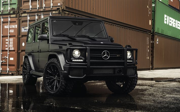 Telecharger Fonds D Ecran Mercedes Benz G 63 Amg 2017 Noir G63