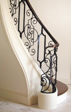 Interior » Stairs & Railings  Almost looks like lace!