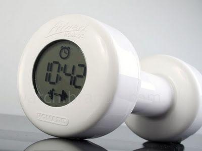 Reloj en forma de Pesa de 1 Kg | Relojes Especiales