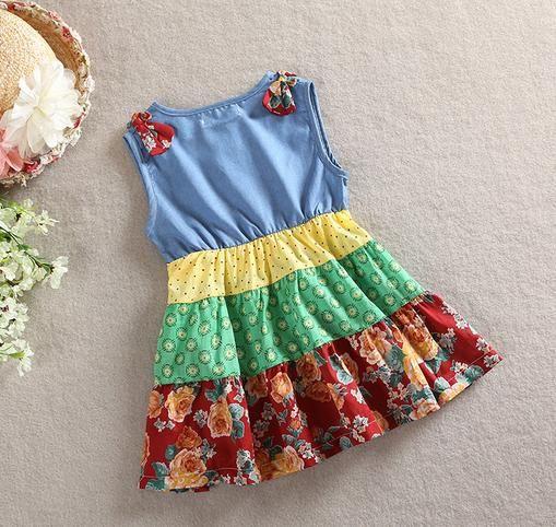 dette hadde jo vært en enkel kjole å sy av gamle klær.