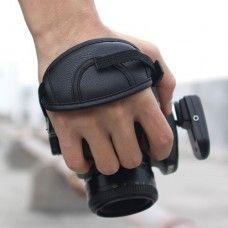 Kézi szíj fényképezőhöz, kamerához Canon és Nikon gépekhez is - véd a leesés ellen - remek fotós ajándék