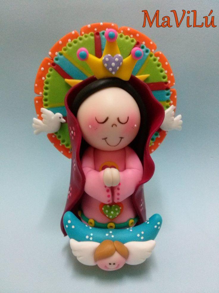 Virgencita Sagrado corazón de Maria