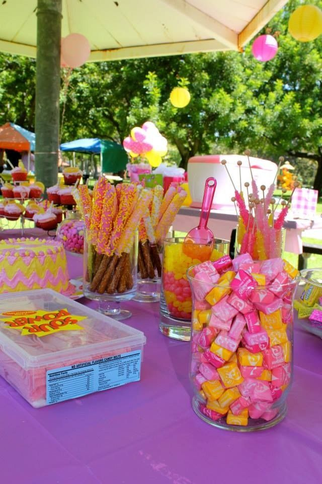 We Heart Parties:  Party Information - Ava's Pink Lemonade Party