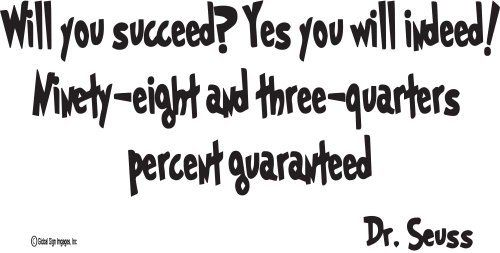 Dr Seuss Quotes Will You Succeed Yes You Will Indeed