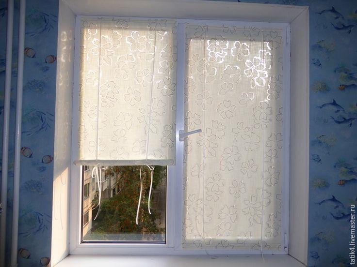 Делаем оконные шторки на липучках - Ярмарка Мастеров - ручная работа, handmade