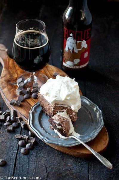 Mile High Chocolate Stout Pie | Recipe